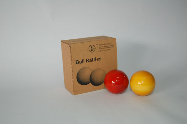 Picture of Ball Rattle for Infants (Set of 2)