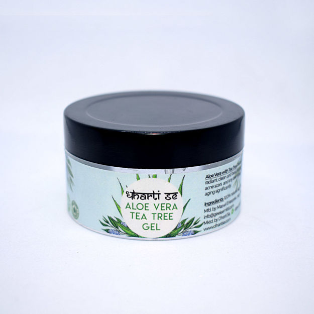 Picture of Aloe Vera Gel with Tea Tree for Face Care