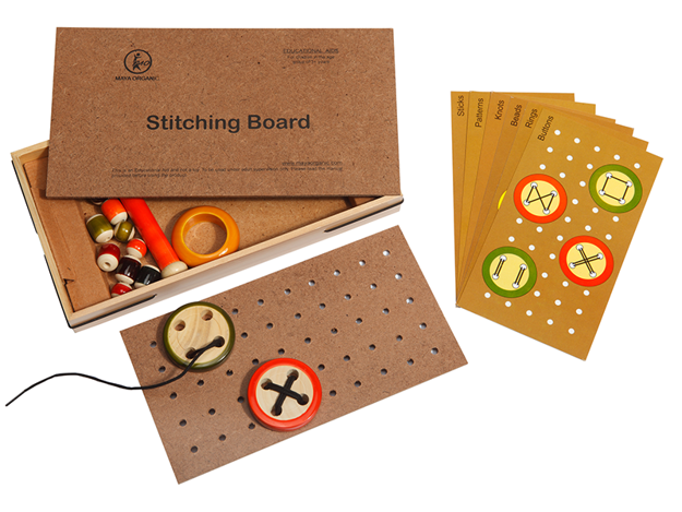Picture of Stitching Wooden Board Game