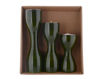 Picture of Triune Wooden Candle Holder (Set of 3)