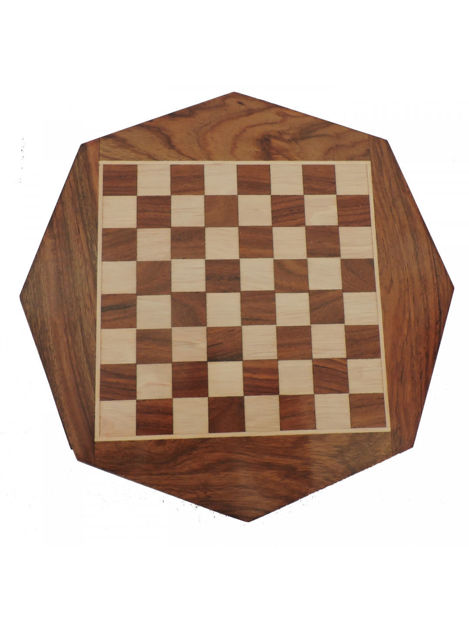 Picture of Handcrafted Wooden Chess Board