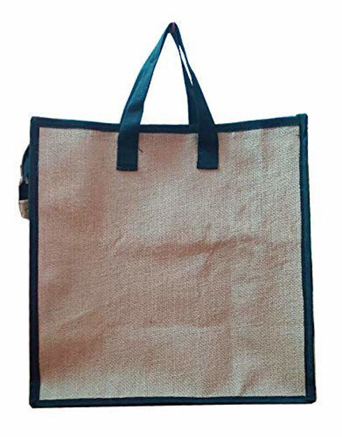Picture of Pure Natural Jute Tote Hand Bag