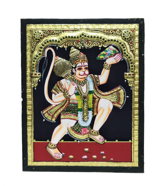 Picture of Tanjore Painting Hanuman