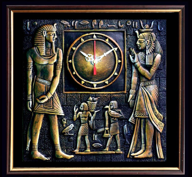Picture of Terracotta Wall Clock (Egyptian Civilization)