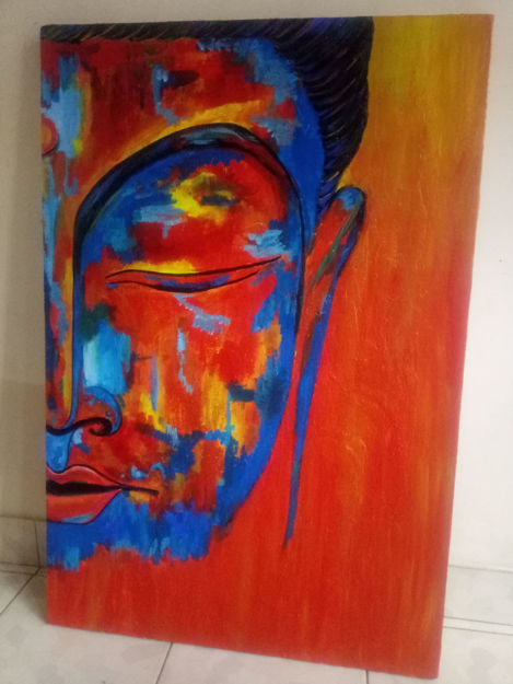 Picture of Buddha Acrylic Painting