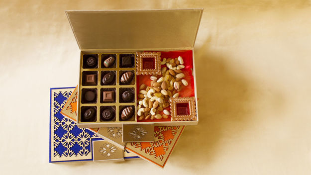 Picture of Classic Truffles and Dry Fruits Designer Box