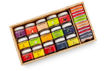 Picture of Limited Edition Wooden Box of Fruits & Chocolates