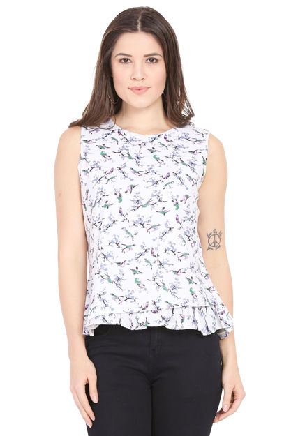 Picture of Ruffled Hem Top