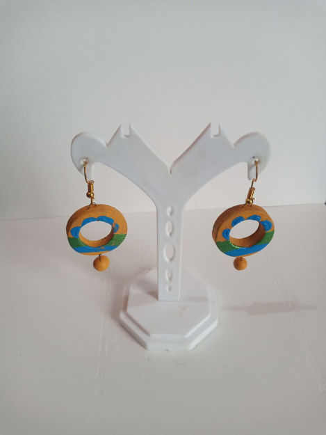 Picture of Terracotta Hanging Ear Ring