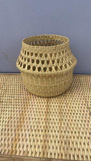 Picture of Belly Basket made of Kouna Grass - Available in 3 Sizes