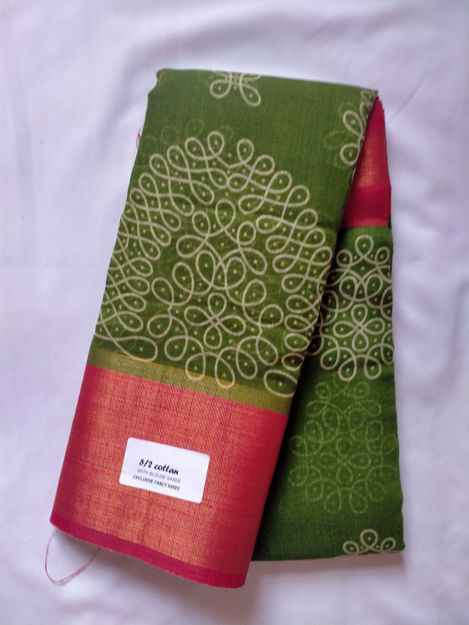 Picture of Rangoli Saree for Daily Wear - Available in 9 Colors