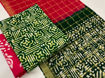 Picture of Cotton Batik Print Material Set (unstitched) - Available in 8 Colors