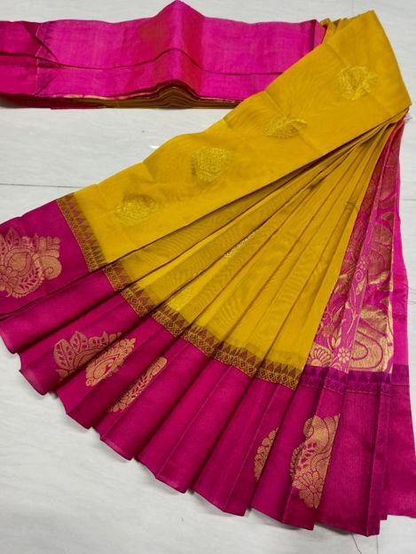 Picture of Kottanchi Silk Cotton Sarees