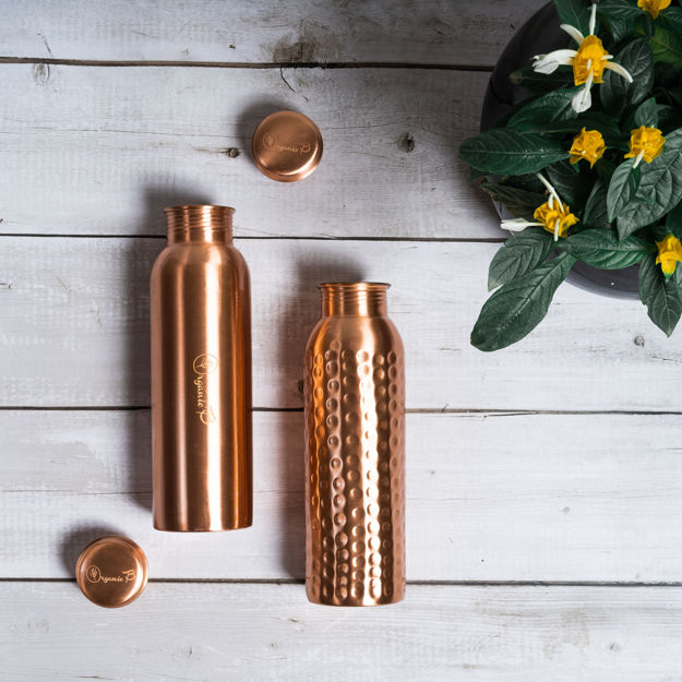 Picture of Copper Water Bottle- Pack of 2