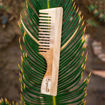 Picture of Neem Wood Comb with Handle (Wide)