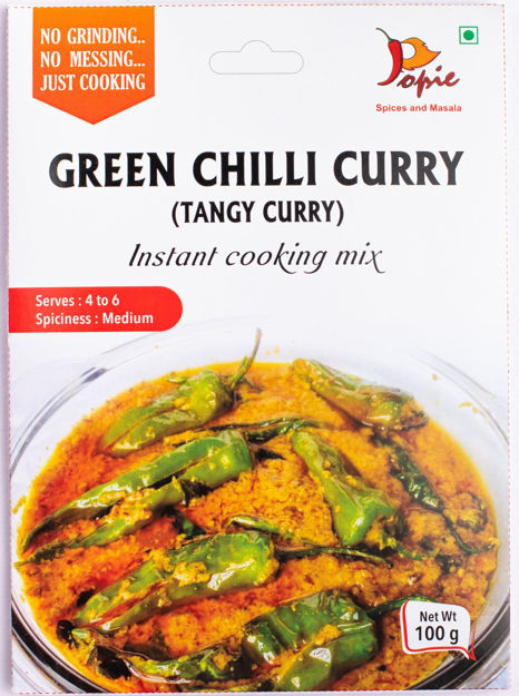 Picture of Green Chilli Curry (Tangy curry)  (Pack of 2)